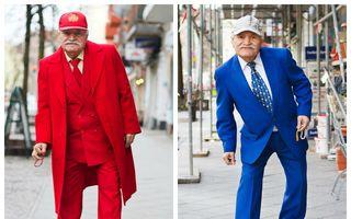 Ali, cel mai trendy croitor. Are 86 de ani și merge la lucru în fiecare zi cu un alt costum