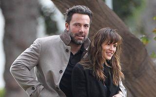 Iubire cu dus şi întors: Ben Affleck și Jennifer Garner s-au împăcat şi aşteaptă al patrulea copil!