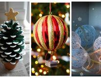 Cele mai frumoase decoraţiuni de Crăciun. Cum să le faci acasă?