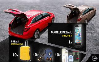Umple-ți portbagajul cu daruri de Crăciun! Intră în concursul Opel Astra și câștigi zeci de premii