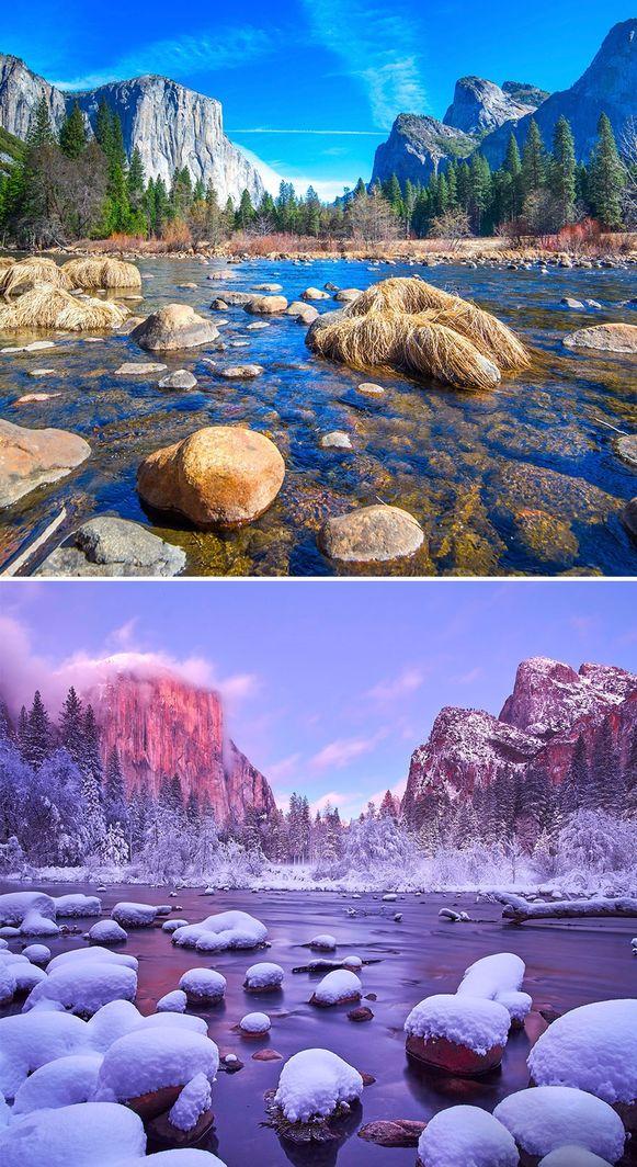 Parcul Naţional Yosemite, California, SUA