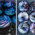 Prăjiturile în culori desprinse din galaxie, noul trend care-ţi lasă gura apă
