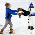 Cei mai originali oameni de zăpadă. Câtă imaginație au unii!