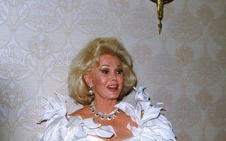 Zsa Zsa Gabor a murit la vârsta de 99 de ani
