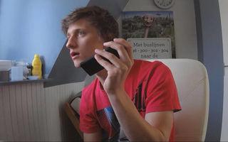 A lăsat un hoţ să-i fure telefonul şi l-a urmărit. Aparatul a ajuns în România