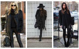 25 de ţinute all black pentru un look chic