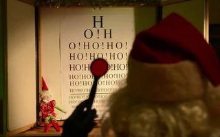 Ho, Ho, Ho! Moş Crăciun şi-a reînnoit permisul de pilot - VIDEO