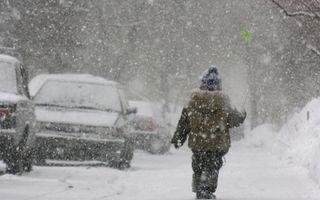 Cod portocaliu de viscol în Bucureşti şi 11 judeţe, cod galben de ninsori în alte 14 judeţe