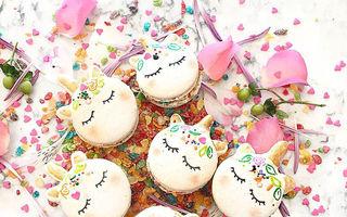Macarons în formă de unicorni, un desert magic. 15 imagini delicioase!