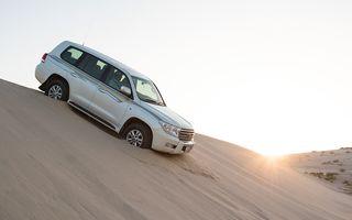 Doha Deşert Safari. Cum arată o zi cu jeep-urile în deşertul din Qatar