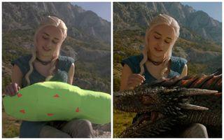 Scene din filme celebre înainte şi după folosirea efectelor speciale