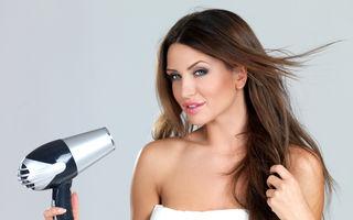 Cum să-ți usuci părul fără să-l electrizezi