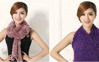 Eşarfa magică pe care o poţi transforma în orice piesă vestimentară vrei. 10 idei geniale!