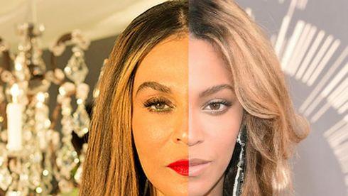Beyoncé şi mama sa