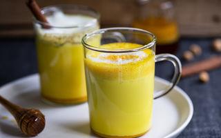 Ai auzit de turmeric latte? Cum să prepari băutura care te fereşte de boli