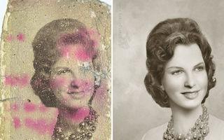 Când totul părea pierdut: 20 de imagini restaurate incredibil de bine