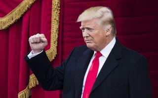 Donald Trump este noul preşedinte al Statelor Unite