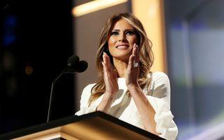Gestul șocant al Melaniei Trump din ziua inaugurării. Filmarea a devenit virală