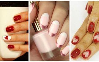 Cum să-ți faci manichiura de Ziua Îndrăgostiților: 30 de modele din care să te inspiri