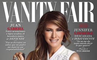 Primul scandal pentru Prima Doamnă: Poza cu Melania Trump care a încins reţelele de socializare