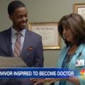Doctorii l-au salvat de la moarte. După 10 ani s-a întors în spital şi i-a uimit pe toţi - VIDEO