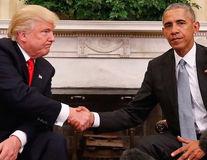 Imaginea virală care arată diferența dintre Obama și Trump: unul e domn, altul nu
