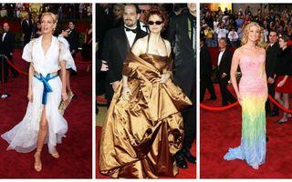 15 cele mai urâte ținute purtate vreodată de vedete la Premiile Oscar