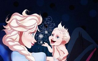 Cum ar arăta prinţesele Disney dacă ar deveni mame