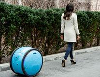 Gita, robotul asistent care îţi duce lucrurile oriunde mergi - FOTO