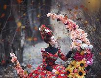 O artistă transformă basmele rusești în fotografii. 20 de imagini spectaculoase