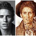 Unii o beau, alţii pictează cu ea! O artistă face portrete uimitoare folosind cafeaua