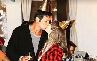Radu Vâlcan a avut parte de ziua lui de o petrecere surpriză organizată de soția sa, Adela