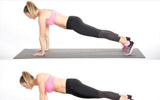 Cel mai eficient exerciţiu pentru un abdomen plat - VIDEO