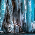 Cum arată cele mai spectaculoase cascade îngheţate din Croaţia. Imagini care îţi taie respiraţia