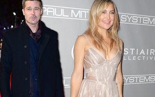 Goldie Hawn: Brad Pitt și Kate Hudson sunt împreună!