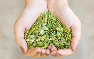 Ce beneficii ai dacă vei consuma semințe de bostan