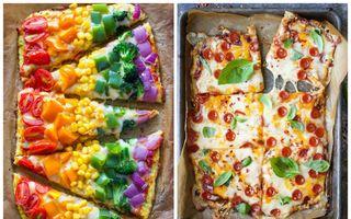 Cum să faci pizza fără făină? Foloseşte un ingredient minune!