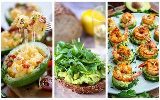 Mic dejun cu avocado. Cele mai sănătoase şi rapide 20 de combinaţii care te pot inspira