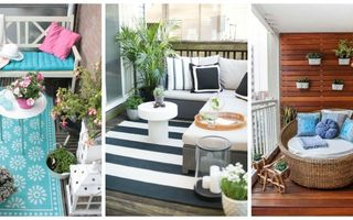 Cum să-ți transformi balconul într-un loc de relaxare. 35 de imagini