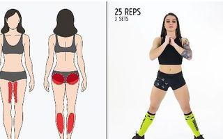Cel mai rapid antrenament pentru tot corpul. Ce exerciţii să faci? - VIDEO