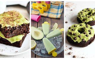 Dulciuri cu avocado. 6 idei geniale pe care sigur nu le ştiai
