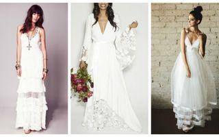 Cele mai frumoase rochii de mireasă simple şi elegante. Sunt nonconformiste!