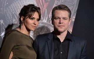Frumoasa şi Bestia: Luciana Barroso, femeia care îl face fericit pe Matt Damon