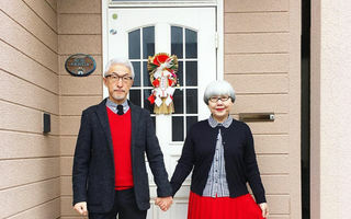 Perechea potrivită: Sunt căsătoriţi de 37 de ani şi îşi asortează mereu ţinutele - FOTO