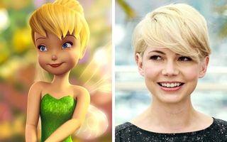 20 de vedete care arată exact ca personajele din desene animate