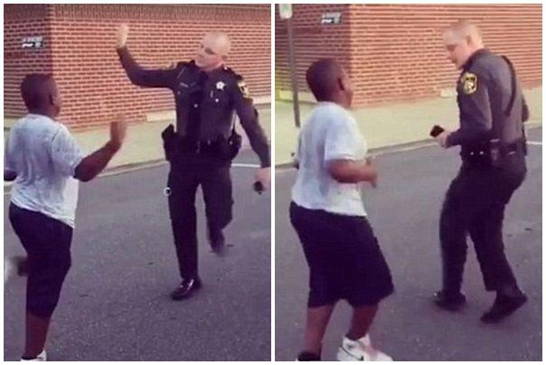 poliţist dans