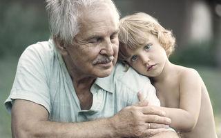 Viaţă de imigrant: Emoţia nepoţilor care îşi văd bunicii o dată pe an - FOTO