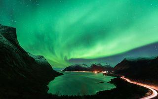 Trebuie să o vezi măcar o dată în viaţă! Aurora boreală, filmată din Norvegia - VIDEO