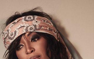 """Naomi Campbell, """"păpuşa de abanos"""": Supermodelul străluceşte la 46 de ani"""
