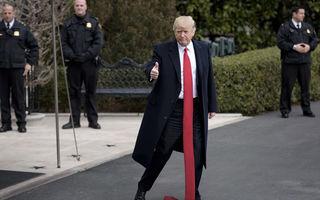 Cineva a râs de Trump: Nimeni nu are cravata mai lungă ca a lui! - FOTO